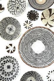 decorative wall baskets elegant circle decor unique home interlocking circles uk hom