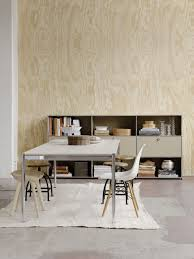 modular dining room. Rectangular #glass Dining #table USM Haller Table Collection By Modular Furniture | #design Fritz @usmfurniture Room