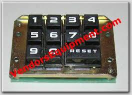 Rowe Vending Machine Delectable ROWE SNACK VENDING MACHINE 48 48 48 48 KEY PAD Detail