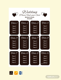 Blank Wedding Seating Chart Template Free Blank Wedding Seating Chart Template Pdf Word