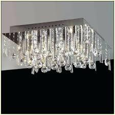 content uploads flush mount rectangular crystal chandelier kitchen lighting