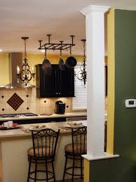 Decorative Interior Columns How To Build A Kitchen Column How Tos Diy