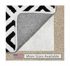 gorilla grip 8x10 feet non slip area rug pad for carpet