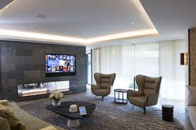 Surround Sound Living Room Design Contemporary Residence Living Room In Complete With