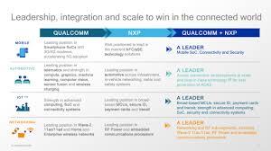 Qualcomm To Acquire Nxp Creates A Massive Semiconductor