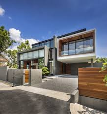 rustic modern residential architecture. Perfect Residential Contemporary Home Evoking A Warm Rustic Feel Mimosa Road In Singapore   Freshomecom With Modern Residential Architecture M