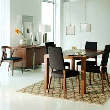 Dining Room  Cute Details About Modern Contemporary Walnut Wood - Round modern dining room sets