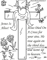 Free Printable Easter Coloring Pages Sunday School Class