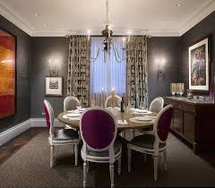 view in gallery grcloth wall covering adds texture to the dining room walls design bnl interior design