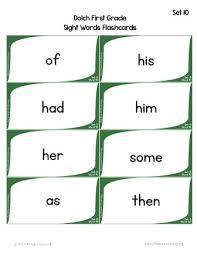 1st Grade Flash Cards 1st Grade Flash Cards Sight Word Flash Cards First Grade 1st Grade