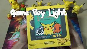 Pikachu Gameboy Light
