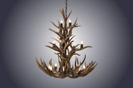 12 light cascade mule deer antler chandelier medium sku 4 045 00 12 light cascade mule deer antler chandelier medium
