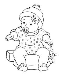 Small Picture Baby Girl Coloring Pages My design world Pinterest Baby