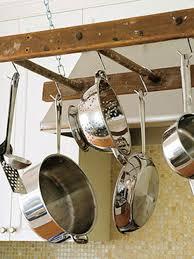 diy hanging pot rack cool diy pot rack ideas everyday items can become cool pot racks