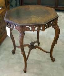 octagon side table kitchen octagon side table tables medium crotch walnut coffee nice french carved shaped octagon side table