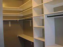 image of corner closet shelves wide