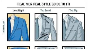 This Visual Guide Outlines How Mens Suits Should Fit