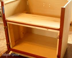 Kitchen Cabinet For Sink Maple Grove How To Build A Support Structure For A Farm House Sink