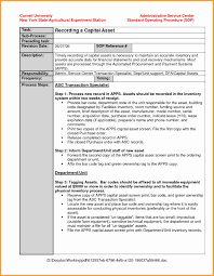 Fda Sop Template Elegant Fda Listeria Draft Guidance For Ready To ...