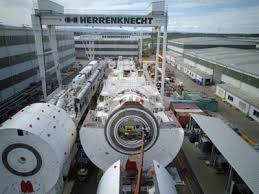 Machine that will drill mile-long hole for Chesapeake Bay Bridge ...