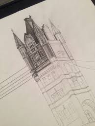 architectural drawings of bridges. Dreams Of An Architect: Tower Bridge, London - Hyperrealistic Architectural  Drawing Drawings Bridges G