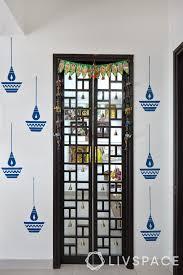 10 inspiring pooja room door designs