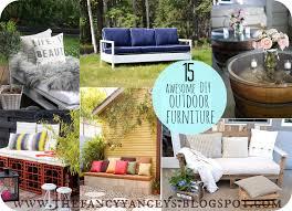 garden week 15 awesome diy outdoor furniture ideas