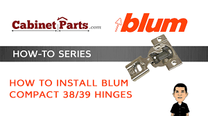how to install blum pact 38 39 cabinet hinges cabinetparts