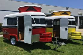 Camper Cars The Tiny Meerkat Camper Can Be Towed By Almost Any Car Curbed