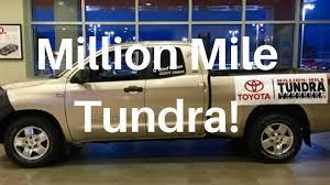 million mile tundra event a toyota tundra with 1 million miles