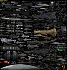 Every Major Sci Fi Starship In One Staggering Comparison