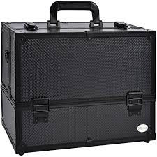 makeup case 6 trays large 14 x 8 5 x 11 premium professional train