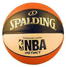 mens basketball size amazon com spalding mens nba instinct basketball orange black