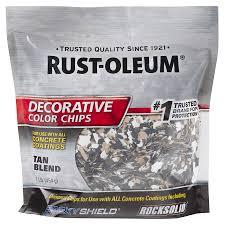 Rust-Oleum Epoxyshield Tan Paint Color Flakes