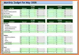 sample personal budget 9 sample personal budget spreadsheet excel spreadsheets group