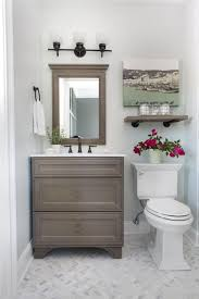 guest bathroom tile ideas. Modren Ideas Small Guest Bathroom Makeoveritu0027s A Great Transformation With Marble  Floor And Shower Open Clean Feeling Bower Power Inside Guest Bathroom Tile Ideas H