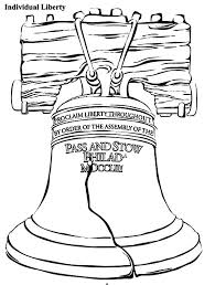 Small Picture Individual Liberty Bell Coloring Pages Batch Coloring
