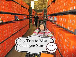 day trip to nike employee store asimplysimplelife vlog