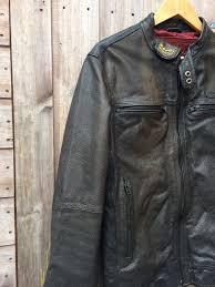 superdry biker jackets leather jacket sdway sd sport black biker medium mens black superdry