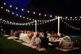 lit party ideas backyard lights outdoor lamps indoor string lights light with string