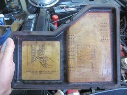lincoln fuse box diagram lincolnrestoration fuses