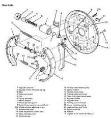ford tempo rear brake assembly diagram questions answers audio wire harness diagram 94 tempo part