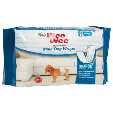 Wee Wee Diapers Size Chart Wee Wee Male Dog Wraps
