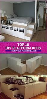 diy platform beds platform bed diy ideas bedroomideas platformbed