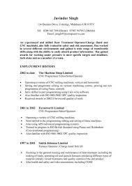 Best Resume Template Resume Templates Answering Service Operator Example Cnc Machine 66