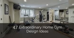 Basement Office Design Extraordinary 48 Extraordinary Home Gym Design Ideas Home Remodeling Contractors