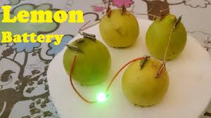 Lemon Powered Light How To Glow Led Using Lemon Lemon Battery