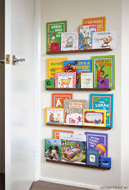 Easy DIY narrow floating shelves (so unobtrusive they can be positioned  BEHIND a door)
