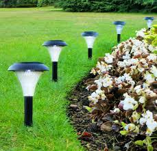 led garden lighting ideas. GardenJoy Outdoor Solar Garden Lights Led Lighting Ideas