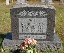 "ROBERTSON, WILLIAM LATNEY ""WILLIE"" - Marion County, Arkansas 